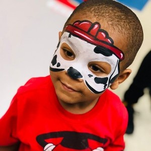 Marshall Paw Patrol Face Paint
